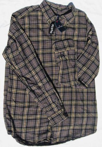 Mens xlt flannel shirt ebay for Mens xlt t shirts