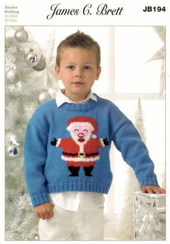 Father Christmas Knitting Pattern Ebay