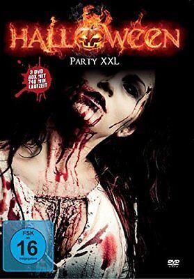 Halloweenparty XXL Box - 9 Grusel Filme 3 DVD Box NEU Halloween Horror 740 Min