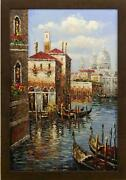 Canal Boat Painting