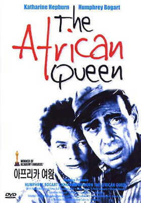 Humphrey Bogart African Queen (The African Queen (1951) Humphrey Bogart, Katharine Hepburn DVD *NEW)