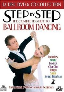 Step By Step - Complete Guide To Ballroom Dancing - 12 CD/DVD BOXSET - BRAND NEW