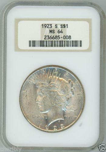 1923 Morgan Silver Dollar Ebay