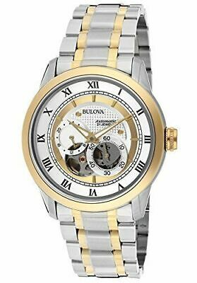 Bulova 98A123 BVA Series Automatic Two-Tone Stainless Steel Dress Men's Watch