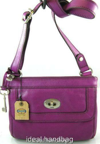 Fossil Crossbody Purple Handbags Amp Purses Ebay