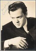Orson Welles Signed
