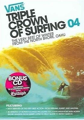 VANS TRIPLE CROWN OF SURFING 04 Best Of Winter From North Shore Oahu DVD/CD (Best Of North Shore)