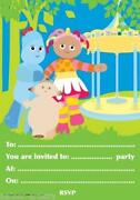In The Night Garden Invitations