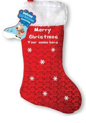 Personalised Christmas Sacks For Children