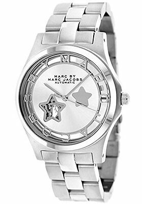 Marc Jacobs Women\s Automatic Silver tone Stainless Steel MBM9708 SEE NOTES