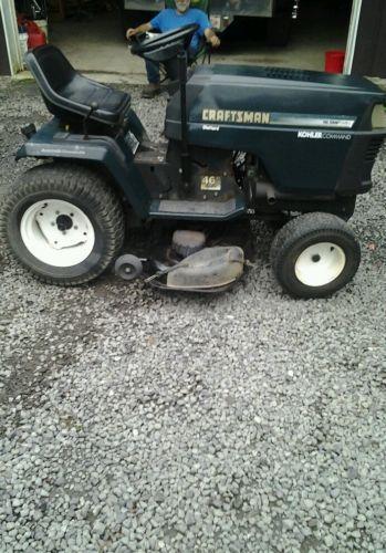 Craftsman Tractor Lawnmowers Ebay