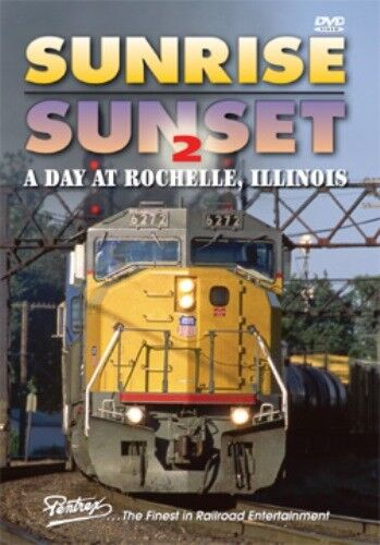 * Pentrex DVD: SUNRISE/SUNSET 2 - DAY AT ROCHELLE, IL