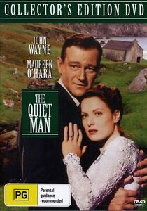 THE QUIET MAN DVD 1952 New & Sealed John Wayne Maureen O'Hara ALL Region Irish