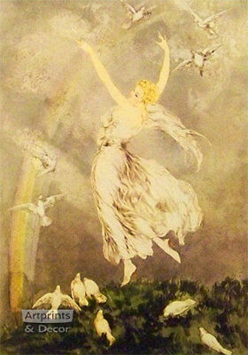 The Rainbow by Louis Icart - Art Print for sale  Fort Scott