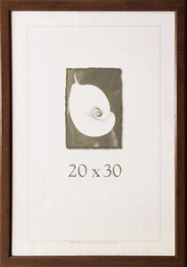 20 x 30 wood picture frame w plexi glass made in the usa. Black Bedroom Furniture Sets. Home Design Ideas