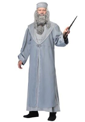 ADULT DELUXE HARRY POTTER DUMBLEDORE COSTUME USED SIZE XL (with defect)
