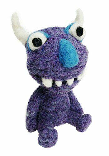 Woolbuddy - Needle Felting - FUN.com Monster Kit - Standard / Easy