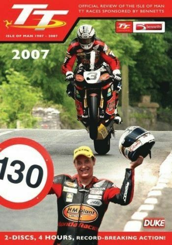2007 Isle of Man TT:  Official Review DVD Brand New All Regions FREE POSTAGE