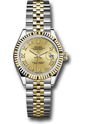Rolex Lady Datejust 28mm Stainless Steel & Yellow Gold Latest Release 279173