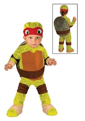 TODDLER TMNT RAPHAEL COSTUME SIZE TD 2-4 (with defect)