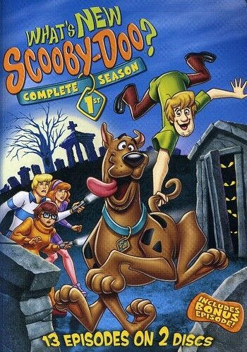 What's New, Scooby-Doo?: The Complete First Season [2 D (2009, REGION 1 DVD New)