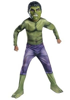 Boys Incredible Hulk Costume Halloween Outfit Boys Child Green Child M L Kids