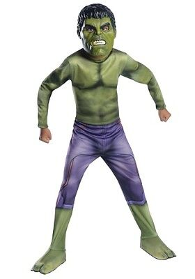 Boys Incredible Hulk Costume Halloween Outfit Boys Child Green Child S M L Kids](Incredible Hulk Halloween)