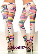 Streifen Jeans