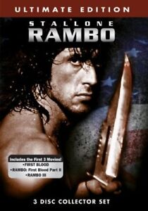 RAMBO TRILOGY ON DVD
