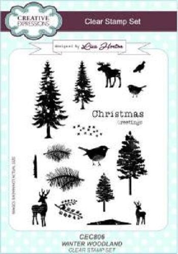 Creative Expressions Clear Stamp Set - Winter Wonderland - Christmas - CEC806