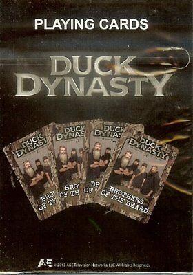 Duck Dynasty Spielkarten Lizenziert Jase Willie Si Phil Bart Commander A&e Neu