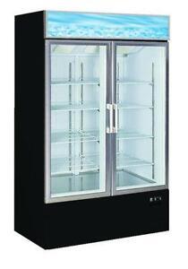 Glass Door Freezer Ebay