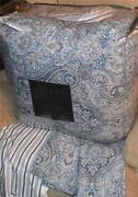 Ralph Lauren Blue Paisley Comforter