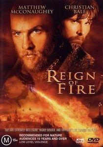 Reign Of Fire (2002) Christian Bale, Matthew McConaughey - NEW DVD - Region 4