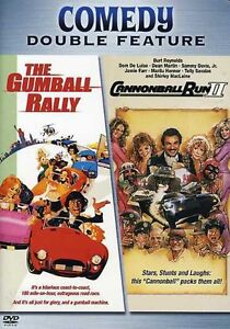 Gumball Rally/Cannonball Run II [DVD NEW]