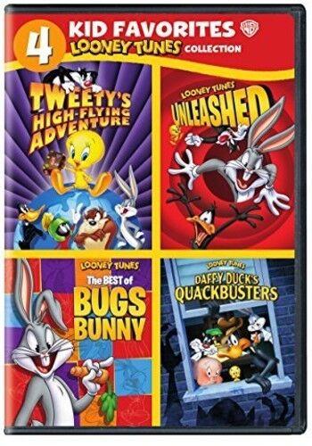 4 Kids Favorites: Looney Tunes (2015, DVD NEW)