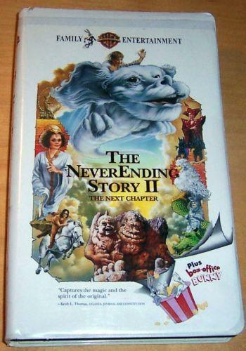 Sell Vhs Tapes >> The Neverending Story VHS | eBay