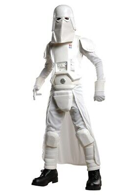 KIDS DELUXE STAR WARS SNOW TROOPER COSTUME SIZE LARGE 12-14 (with defect)