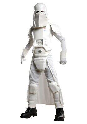 KIDS DELUXE STAR WARS SNOW TROOPER COSTUME SIZE LARGE 12-14 (with - Star Wars Snowtrooper Kostüm
