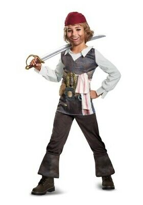 Captain Jack Sparrow Disney Pirates of the Caribbean Child Costume by Disguise - Jack Sparrow Disney Costume