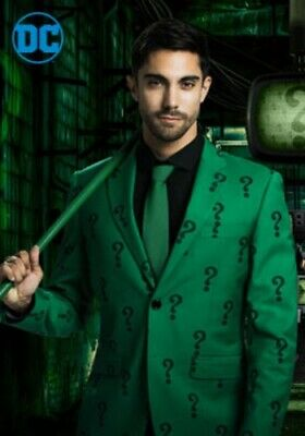 The Riddler Jacket (MEN'S THE RIDDLER SLIM FIT SUIT JACKET (AUTHENTIC) -)