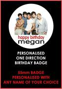 One Direction Badges