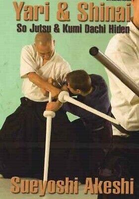 Yari Spear & Kendo Shinai DVD Akeshi so-jutsu kumidashi hiden samurai sword