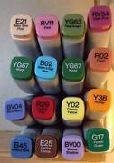Copic Markers Lot