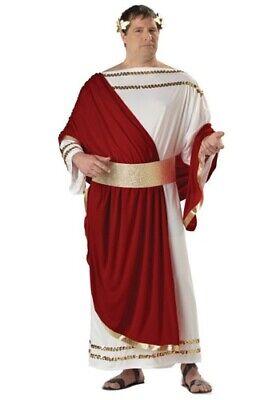 Adult Men Plus Size Caesar (48-52) Halloween Costume Robe Toga](Men Toga Costume)