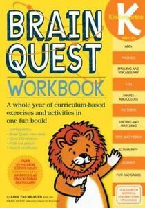 Brain Quest Workbooks: Brain Quest Workbook, Ages 5-6 : A Whole Year of  Curriculum-Based Exercises and Activities in One Fun Book! by Lisa  Trumbauer