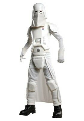 Deluxe-kids Kostüme (DELUXE KIDS SNOW TROOPER COSTUME SIZE MEDIUM AND LARGE (missing mask/gloves))
