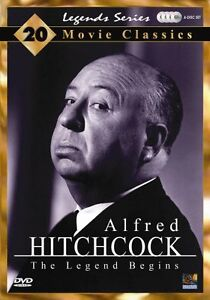 ALFRED HITCHCOCK DVD 4 DISC SET. 20 MOVIE CLASSICS""