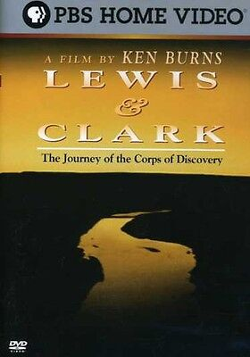 Film By Ken Burns   Lewis   Clark  The Journey Of Th Dvd Region 1