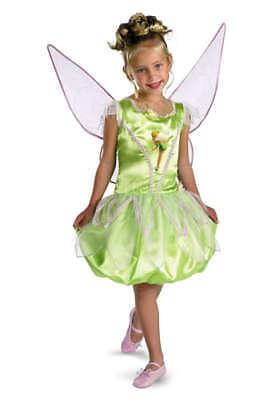 Mädchen Disney Prinzessin Deluxe Tinker Bell (Mädchen Tinkerbell Prinzessin Kostüm)